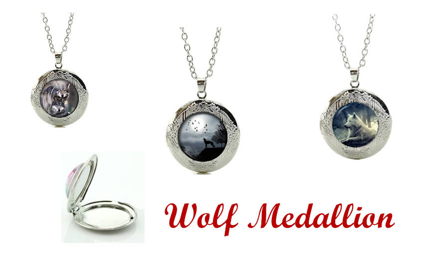 Wolf Medallions