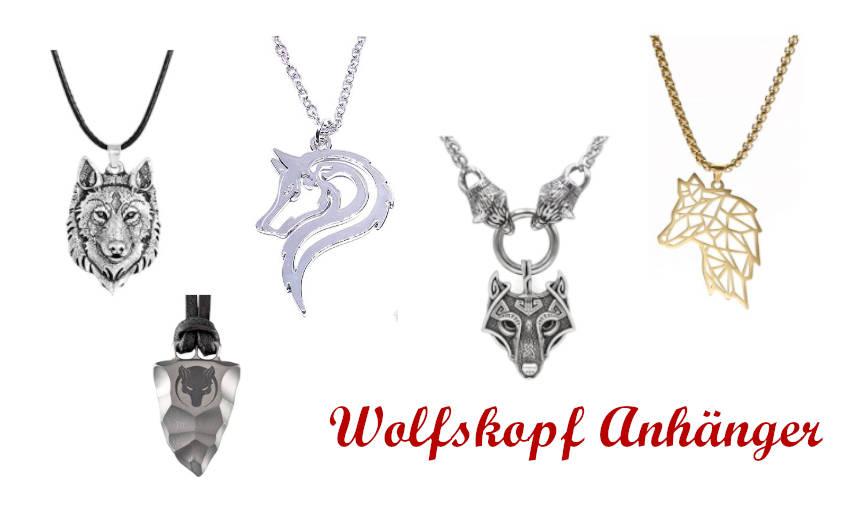 Wolf Kette Damen | Wolf Schmuck kaufen auf Angelwolves