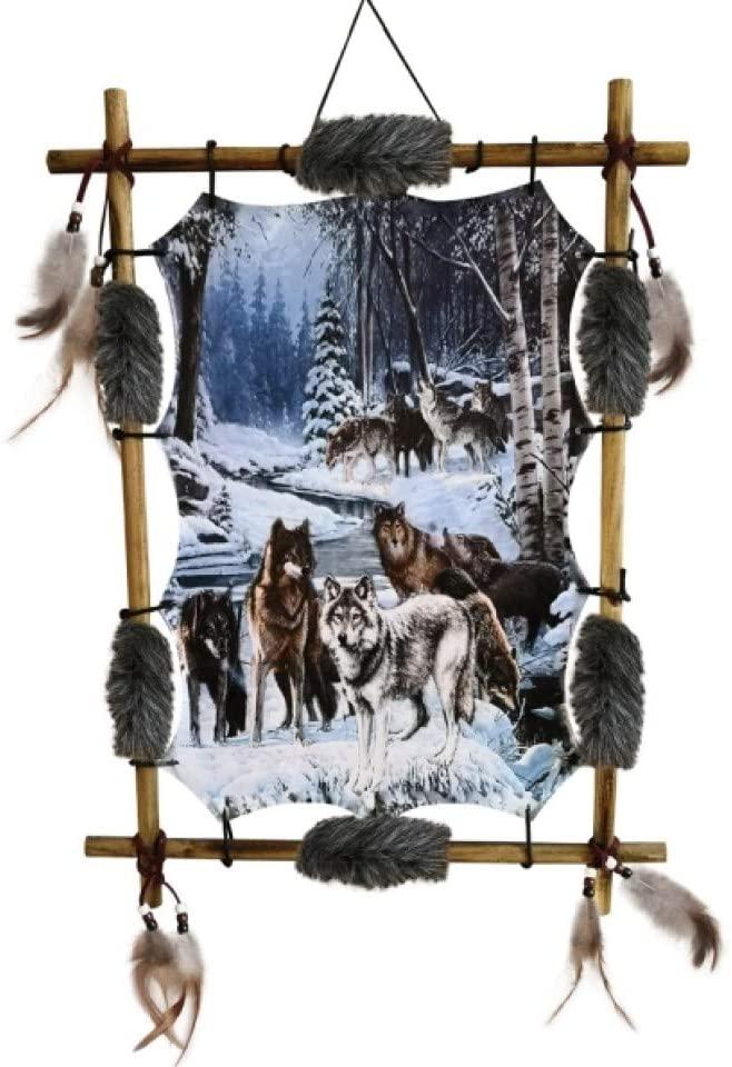 Traumfänger mit Wolfsrudel