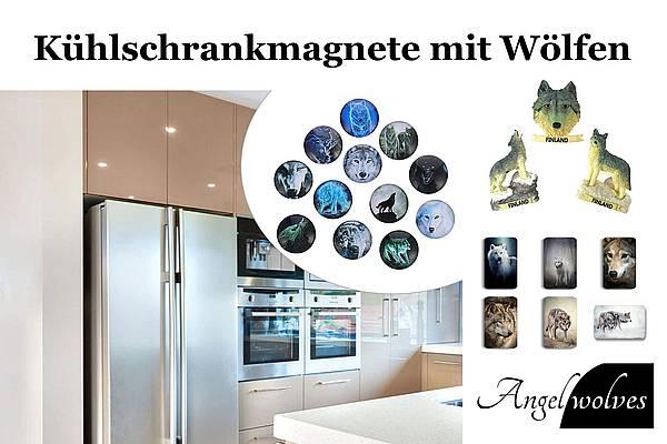 Kühlschrankmagnete mit Wolf