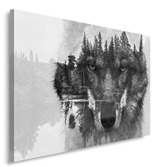 Leinwand Wolf 2